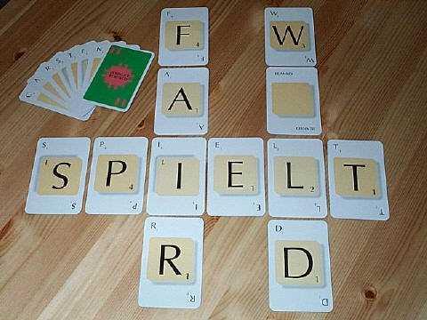 Scrabble Kartenspiel